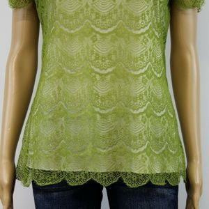 Banana Republic Tops - Banana Republic Top Blouse Green Olive
